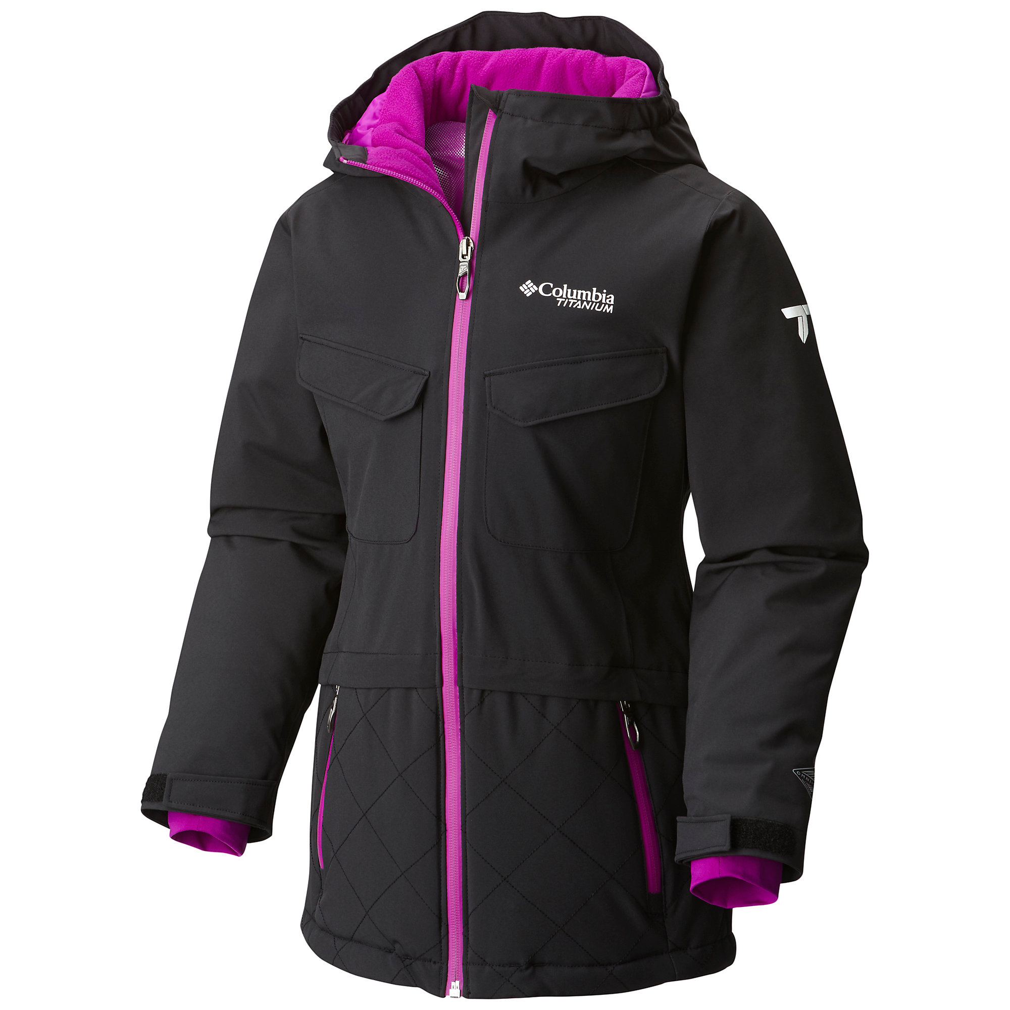 photo: Columbia Girls' EmPOWder Hooded
