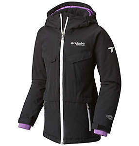 Girl's EmPOWder™ Insulated Hooded Jacket