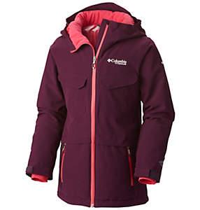 Manteau isolé à capuchon EmPOWder™ pour fille