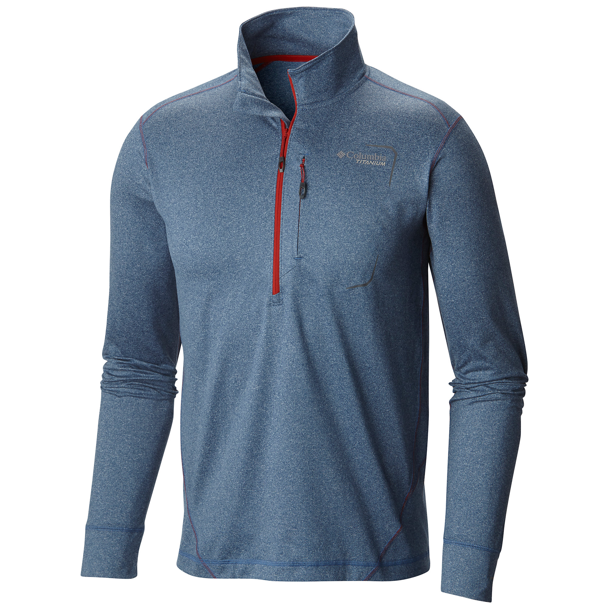 photo: Columbia Men's Diamond Peak Half Zip