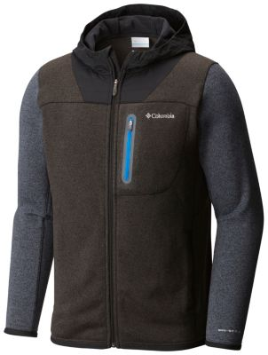 photo: Columbia Altitude Aspect Full Zip Sweater-Face Hoody
