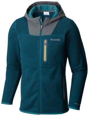 photo: Columbia Altitude Aspect Full Zip Sweater-Face Hoody
