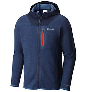 Men's Altitude Aspect™ Full Zip Sweater-Face Fleece Hoody