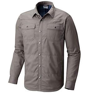 Manteau-chemise à doublure en laine polaire Log Vista™ pour homme