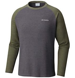 Men's Ketring™ Raglan Waffle Long Sleeve Shirt - Big