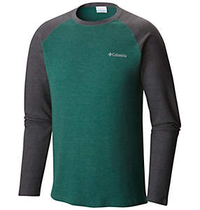 Men's Ketring™ Raglan Waffle Long Sleeve Shirt - Big