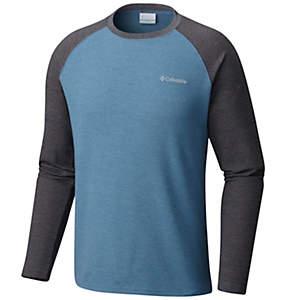 Men's Ketring™ Raglan Waffle Long Sleeve Shirt - Tall