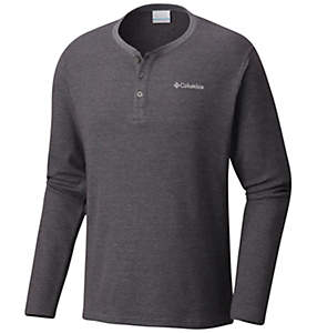 Chandail à manches longues Ketring™ Henley Waffle pour homme