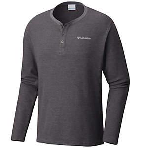Men's Ketring™ Henley Waffle Long Sleeve Shirt - Big