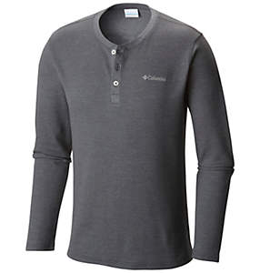 Men's Ketring™ Henley Waffle Long Sleeve Shirt - Big