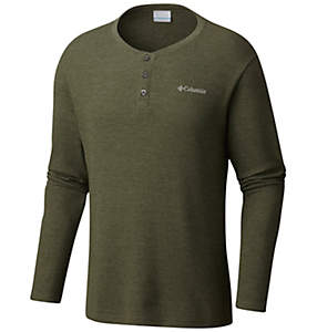 Men's Ketring™ Henley Waffle Long Sleeve Shirt - Tall