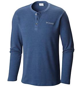 Men's Ketring™ Henley Waffle Long Sleeve Shirt - Tall