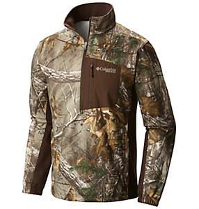 Men's Stealth Shot™ III Fleece Half Zip Top