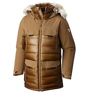 Men's Heatzone 1000 TurboDown™ Long Hooded Parka Jacket
