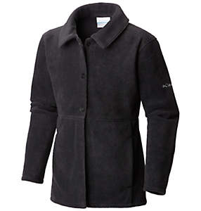 Girl's Benton Springs™ Button Up Fleece Coat