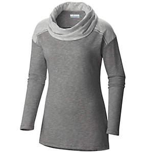 Women's Easygoing™ Long Sleeve Cowl Tunic Shirt - Plus Size