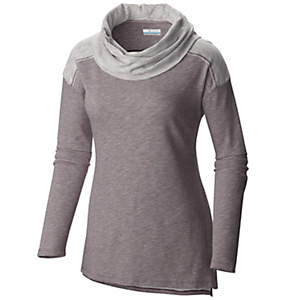 Women's Easygoing™ Long Sleeve Cowl Tunic Shirt - Plus Size