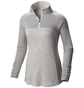 Women's OuterSpaced™ II Half Zip Shirt - Plus Size