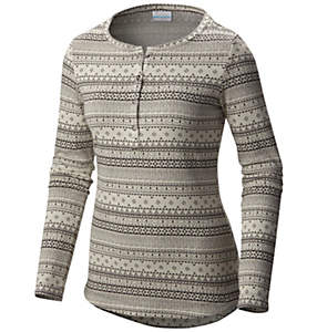 Women's Aspen Lodge™ Jacquard Henley Long Sleeve Shirt