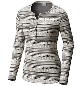 Women's Hood Mountain Lodge™ Jacquard Henley Long Sleeve Shirt