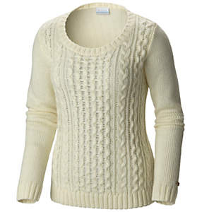Women's Hideaway Haven™ Cabled Crew Neck Sweater