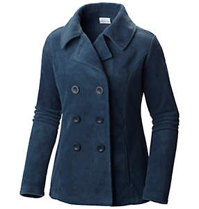 Women's Benton Springs™ Fleece Pea Coat Jacket - Plus Size