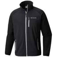 Columbia Men's Green Lake Softshell Jacket (Black or Blue)
