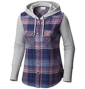 Women's Canyon Point™ Flannel Shirt Jac Hoodie