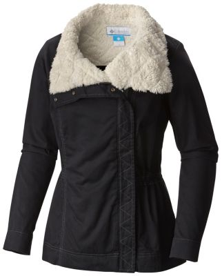 Columbia | Women's Outdoor Explorer Sherpa Fleece Lined Cotton ...