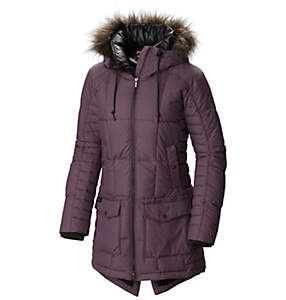 Manteau à capuchon isolé Della Fall™ mi-long