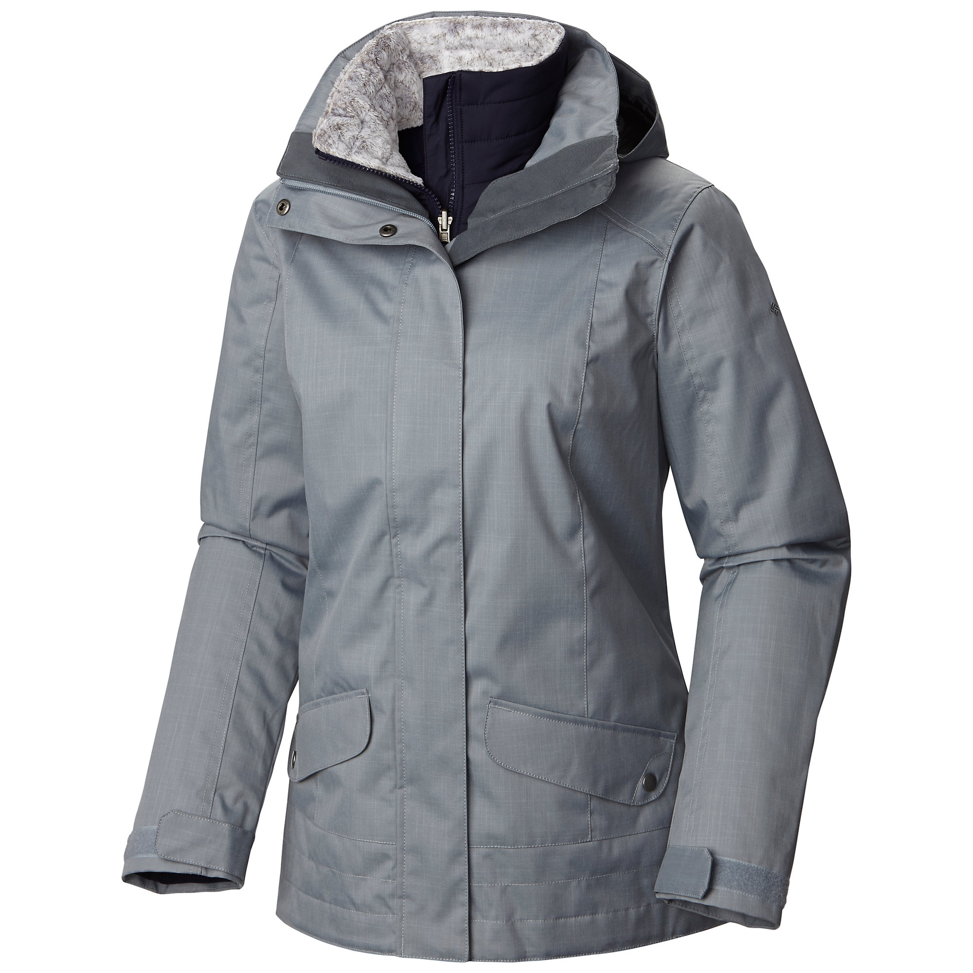 Columbia Sleet to Street Interchange Jacket