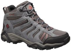Men's North Plains™ II Waterproof Leather Mid Top Trail Hiking Shoe
