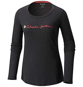 Camiseta de manga larga CSC Script Logo™ para mujer