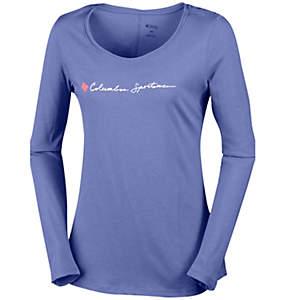 T-shirt à manches longues CSC Script Logo™ Femme