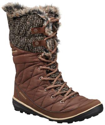 Women's Heavenly™ Omni-Heat™ Knit Lace Up Boot - Tobacco, Dark Mirage ...