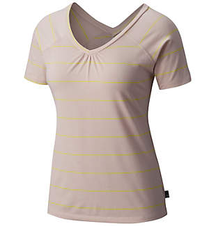 Women's DrySpun™ Stripe Short Sleeve T