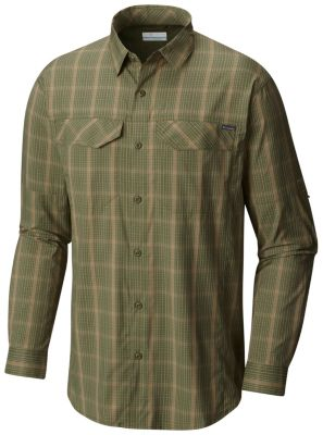 Men's Silver Ridge Lite Plaid™ Long Sleeve Shirt at Columbia Sportswear in Daytona Beach, FL | Tuggl