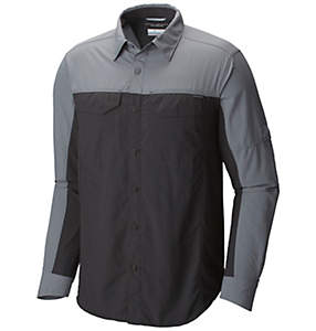 Men's Silver Ridge Blocked™ Long Sleeve Shirt