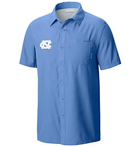 Men's Collegiate Slack Tide™ Camp Short Sleeve Shirt - Carolina