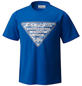 Boy's PFG Triangle™ DigiCamo Tee