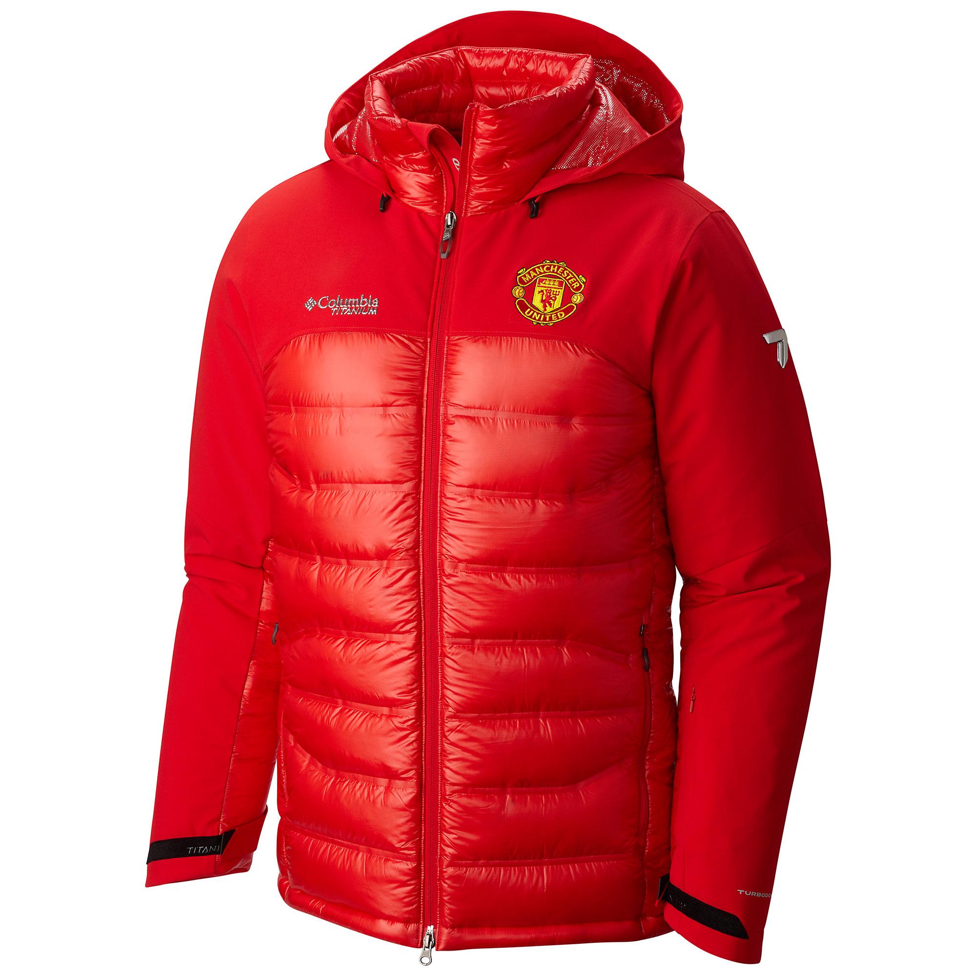 Veste à capuche Heatzone 1000 TurboDown™ Homme -Manchester United