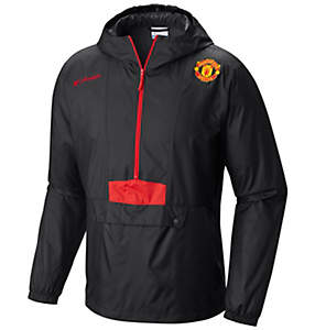 Men's Flashback™ Windbreaker Pullover Jacket- Manchester United