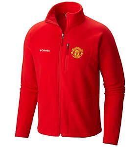 Chandail en laine polaire à fermeture éclair pleine longueur Fast Trek II™ pour homme - Manchester United