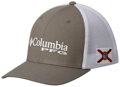 Pfg mesh stateside ball cap hat for Columbia fish flag hat