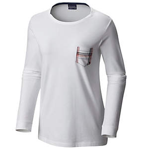 Women's Harborside™ Long Sleeve Pocket Tee