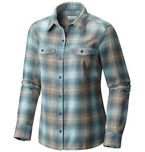 Women's Silver Ridge™ Long Sleeve Flannel Shirt