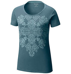 Women's Floral Block™ Short Sleeve Tee - Plus Size