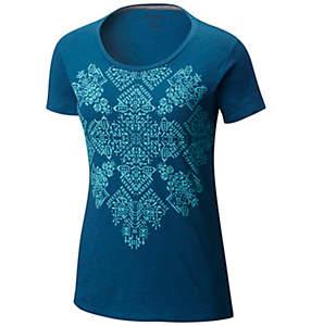Women's Floral Block™ Short Sleeve Tee - Plus Size