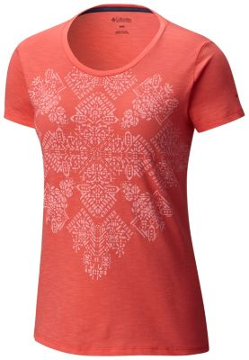 Women's Floral Block™ Short Sleeve Tee - Plus Size at Columbia Sportswear in Daytona Beach, FL | Tuggl