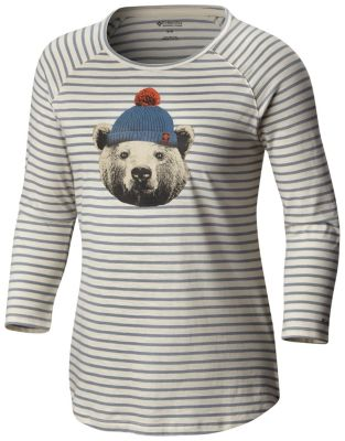 Women's UnBearable™ Stripe Tee at Columbia Sportswear in Daytona Beach, FL | Tuggl